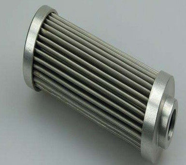 Bottom Folding Hydraulic Oil Filter Stainless Steel Mesh For Oil Systems