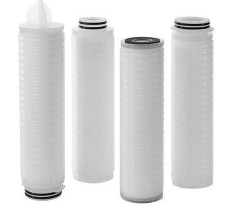 "30"" Absolute 0.45 Micron Pleated Filter Cartridge For Winery ISO Approval"