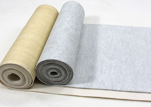 Normal Temperature Custom Polyester Filter Cloth / Filter Fabric Roll Good Air Permeability